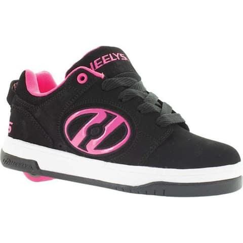 Heelys Children's Voyager Roller Shoe Black/Pink