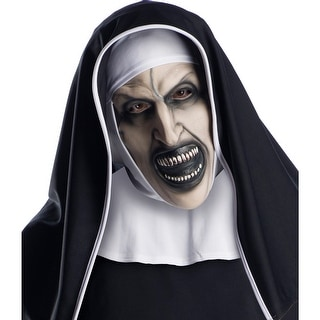 Adult The Nun Movie 3/4 Horror Mask - Standard - One Size