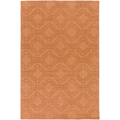 Hand Loomed Oaks Wool Area Rug