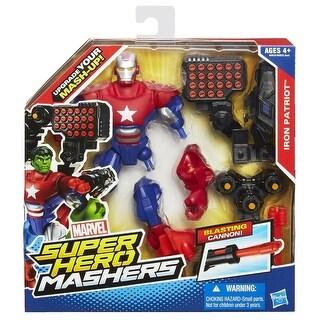 "Marvel Super Hero Mashers 6"" Action Figure: Iron Patriot"