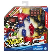 "Marvel Super Hero Mashers 6"" Action Figure: Iron Patriot - multi"