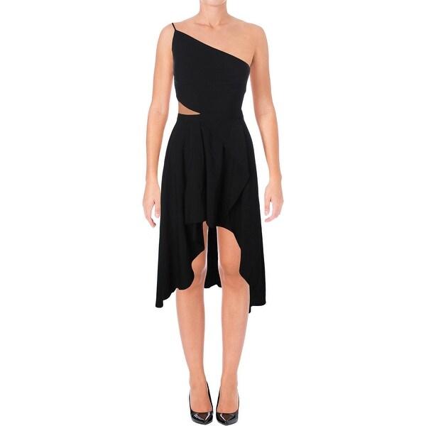 8697ba0bd78c Shop Mason by Michelle Mason Womens Formal Dress Asymmetrical Cut ...