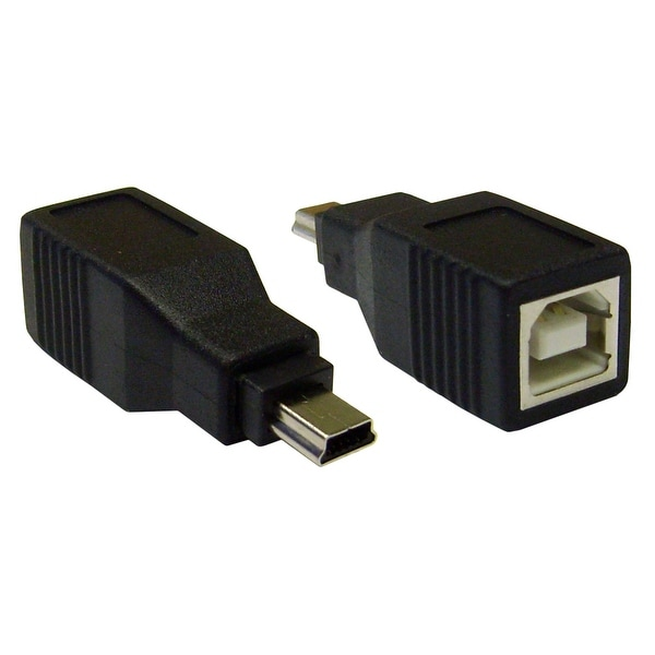 Offex USB B Female to USB Mini-B 5 Pin Male Adapter