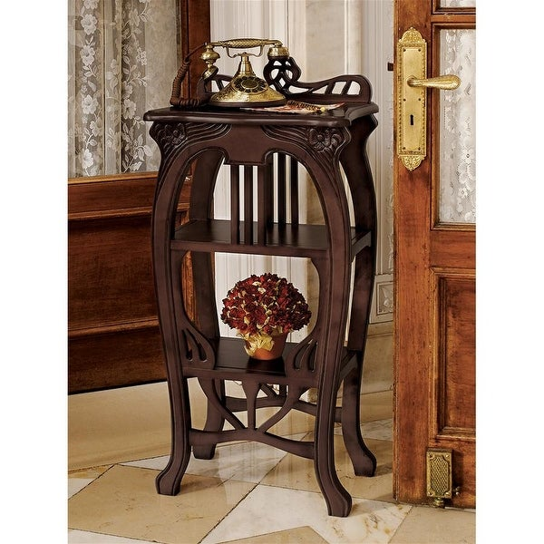 Shop Design Toscano Art Nouveau Harp Side Table