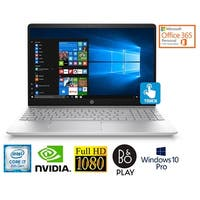 "HP 15.6"" FHD Touch Core i7-8850U 4GB NVIDIA Win 10 Pro Laptop (Certified Refurbished)"