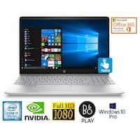 "HP 15.6"" FHD Touch Core i7-8850U 4GB NVIDIA Win 10 Pro Laptop (Certified Refurbished)"