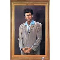 ''Kramer (Seinfeld)'' by Larry Salk Humor Art Print (35.5 x 23.625 in.)