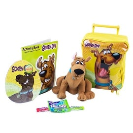 Scooby-Doo Rolling Backpack Travel Set