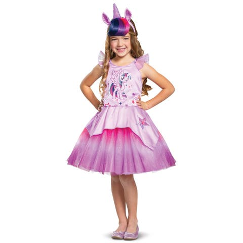 Disguise 2019 Twilight Sparkle Tutu Deluxe Child Costume - Pink/Purple