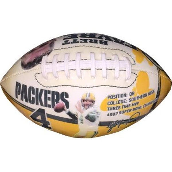 d6c4a1703 Shop CTBL-021661 Brett Favre Green Bay Packers NFL Football - Youth Size -  Free Shipping On Orders Over  45 - Overstock - 23884630