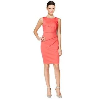 Calvin Klein Starburst Sleeveless Sheath Day Cocktail Dress - 8P