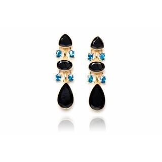 The Metropolitan Earring in Black