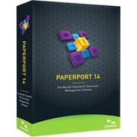 """""""Nuance 6809A-G00-14.0 Nuance PaperPort v.14.0 - Complete Product - 1 User - Document Management - Standard Box Retail - DVD-ROM"""