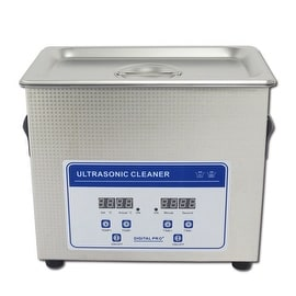 2.0L Professional Digital Ultrasonic Cleaner Machine with Timer Heated Stainless steel Cleaning tank