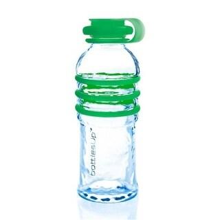 Bottlesup Glass B-BU-103 16 oz Glass Water Bottle - Green