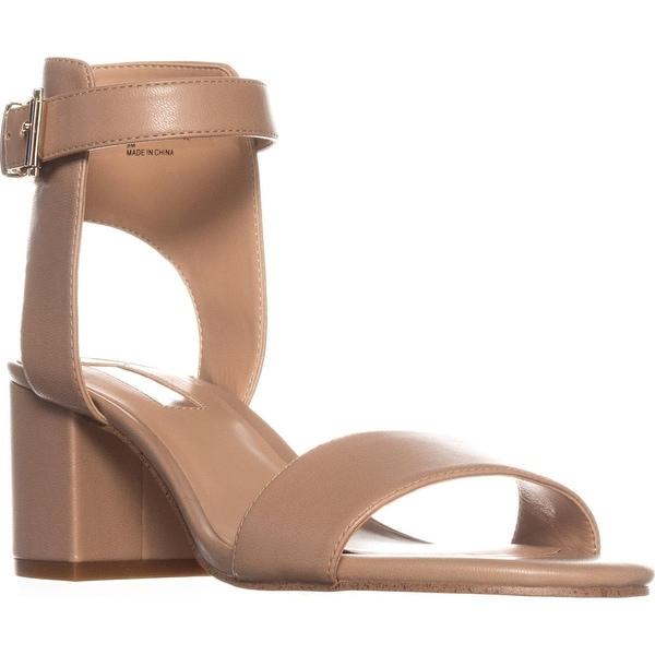 I35 Hallena Block-Heel Dress Sandals, Dark Almond - 9 us