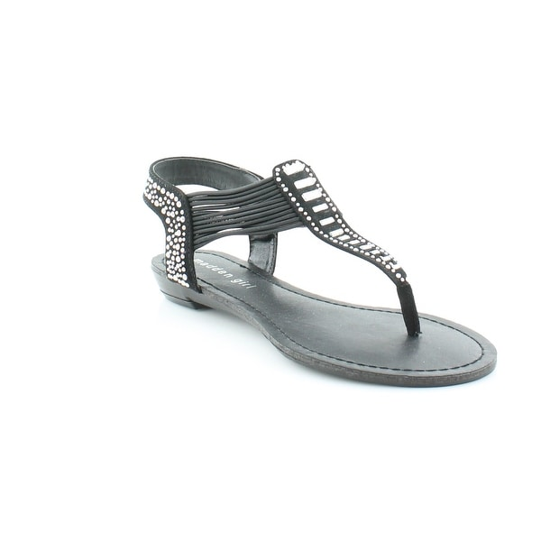 Madden Girl Triixie Women's Sandals & Flip Flops Black