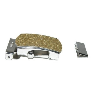 CTM® Gold Glitter Military Belt Buckle - One Size