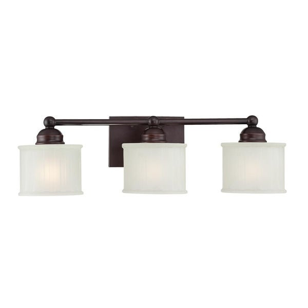 Minka Lavery ML 6733 3 Light Bathroom Vanity Light from the 1730 Series Collection - lathan bronze