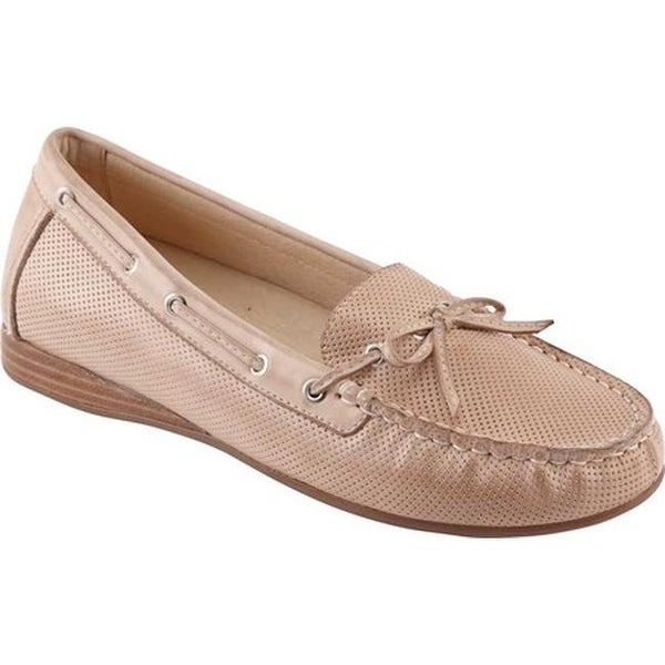 147e40e31c2 Shop David Tate Women s Splendid Loafer Taupe Naked Calfskin - On ...