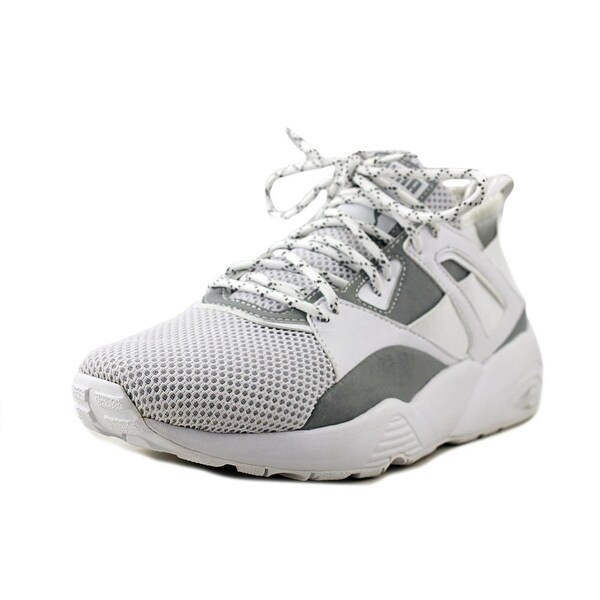 Puma Blaze Of Glory Glacier Gray-Puma White Sneakers Shoes