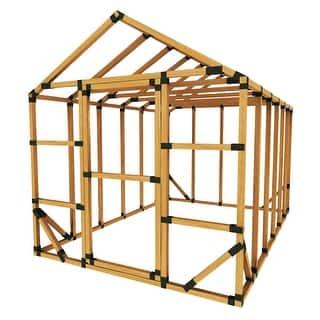 E Z Frame 8x12 Standard Storage Shed Or Greenhouse Kit