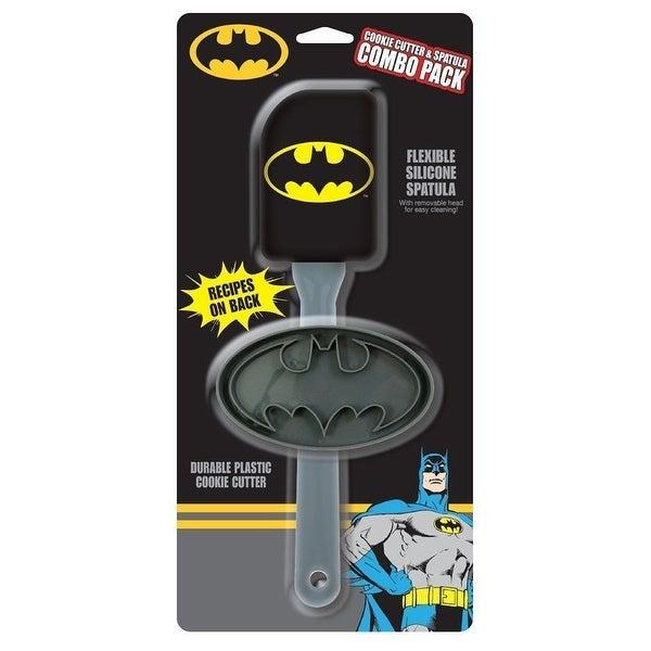 Batman Spatula Cooker Cutter, 2 Pack