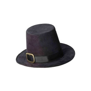 Forum Novelties Super Deluxe Pilgrim Hat - Black