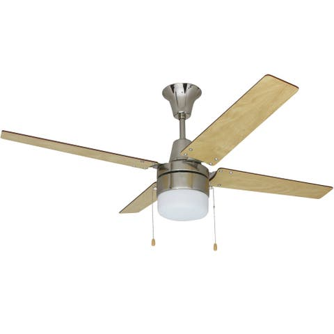 "Craftmade CON484C1 Connery 48"" 4 Blade Ceiling Fan - Blades and LED"