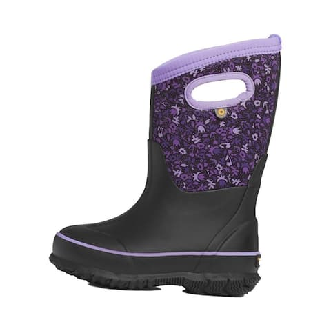 Bogs Outdoor Boots Girls Classic Freckle Flower Waterproof