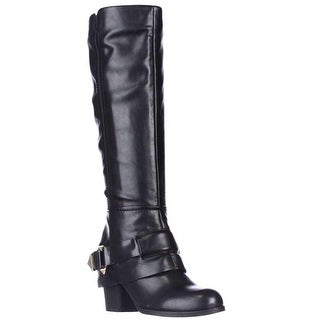 Fergie Theory Western Knee-High Boots - Black
