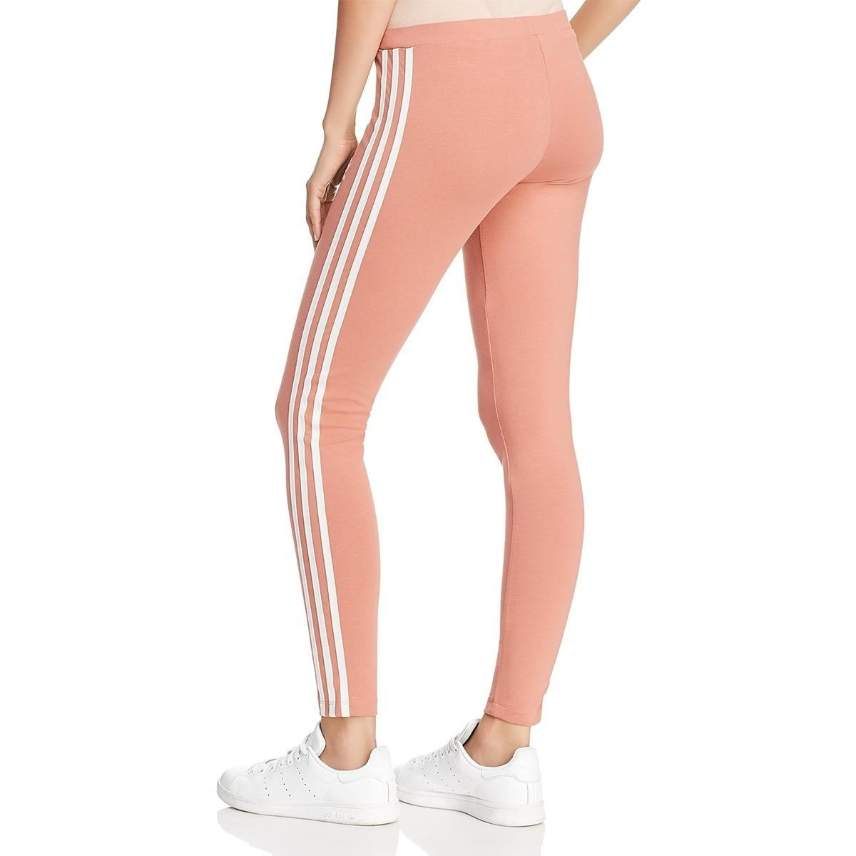 adidas leggings peach