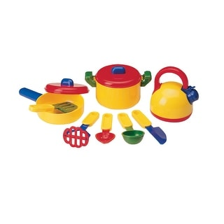 Learning Resources Pretend and Play Cooking Set, Set of 10