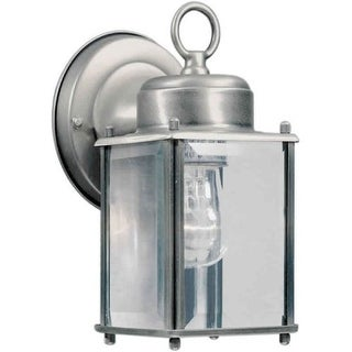 Forte Lighting 1005-01 Craftsman / Mission Outdoor Wall Sconce from the Exterior Lighting Collection