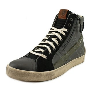 Diesel D-String Plus Leather Fashion Sneakers