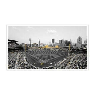 Pittsburgh Pirates MLB Touch of Color Matte Poster 44x15
