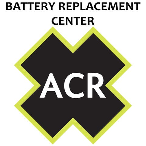 ACR FBRS 2880 & 2881 Battery Replacement Service - PLB-375 ResQLink /ResQLink+