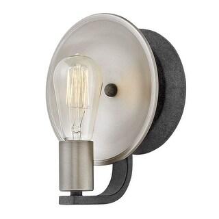 "Hinkley Lighting 4530DZ Boyer Single Light 9"" High Wall Sconce - aged zinc"