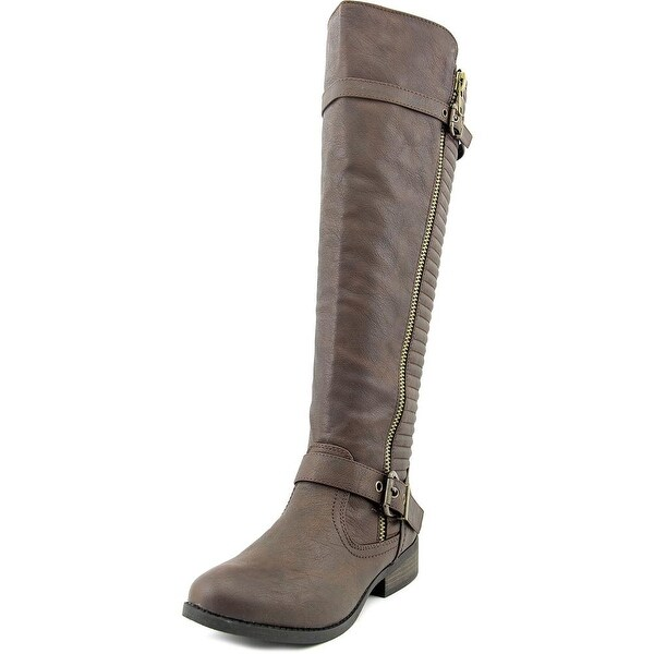 Olivia Miller OMD-8352 Women Round Toe Synthetic Knee High Boot