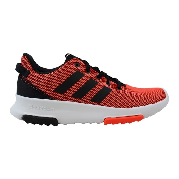 Shop Adidas Grade School Cloudfoam Racer TR K Solar Red