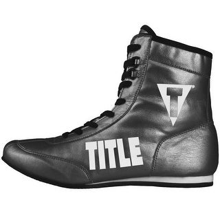 Title Boxing Money Metallic Flash Boxing Shoes - Stone Gray/Black