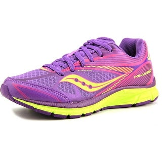 Saucony G Kinvara 4 Youth Round Toe Synthetic Purple Running Shoe