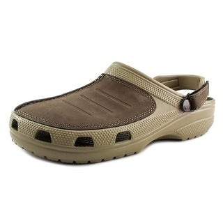 Crocs Yukon Mesa Clog Round Toe Leather Clogs