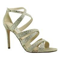 Nina Womens Beige Sandals Size 8