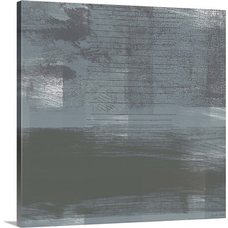 """Concrete I"" Canvas Wall Art"