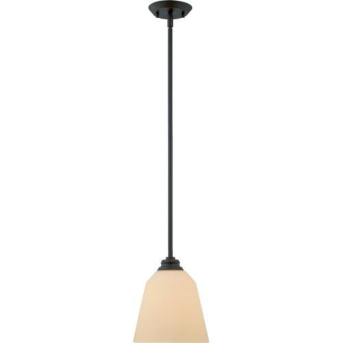 "Nuvo Lighting 62/372 Single Light 8"" Wide LED Mini Pendant"