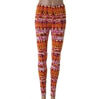 Material Girl Womens Juniors Leggings Matte Jersey Printed - S