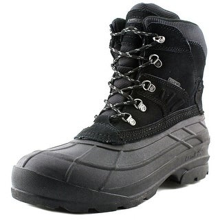 Kamik Fargo Men  Round Toe Suede Black Hiking Boot