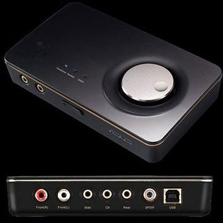 Xonar U7 Mkii 7.1 Usb Dac With Headphone Amplifier