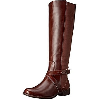 Steven By Steve Madden Womens Sydnee Riding Boots Leather Knee-High